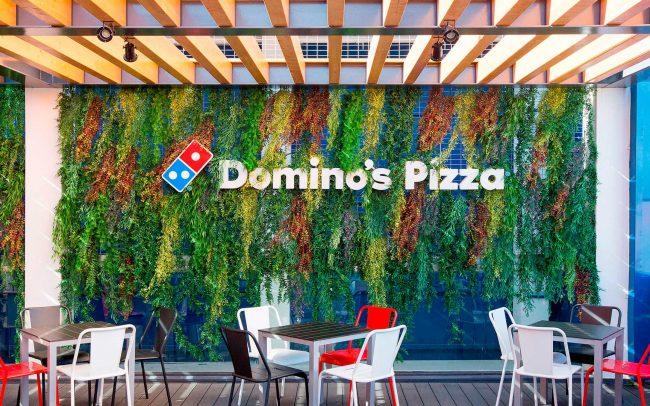 Jardines verticales artificiales para restaurantes