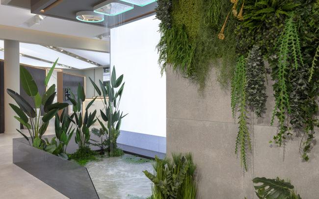 decoración vegetal con plantas artificiales de calidad